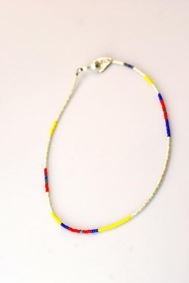 PIKEY(パイキー)Seed Beads Necklace(White)