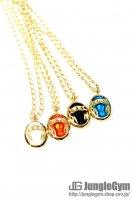 ★受注生産予約 SAHRIVAR(シャフリーヴァル)Enameled Necklace(Brass×18K Plating)