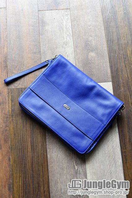 L.I.P.(リップ) 2WAY Clutch Shoulder Bag / ブルー