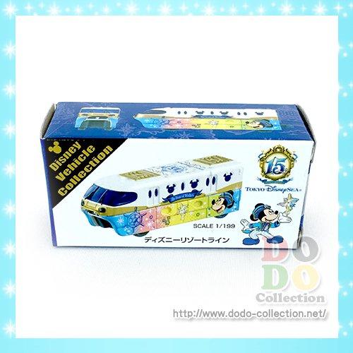ディズニーリゾートライン トミカ ザ・イヤー・オブ・ウィッシュ 先頭車 1両目 ミッキー 東京ディズニーシー15周年限…