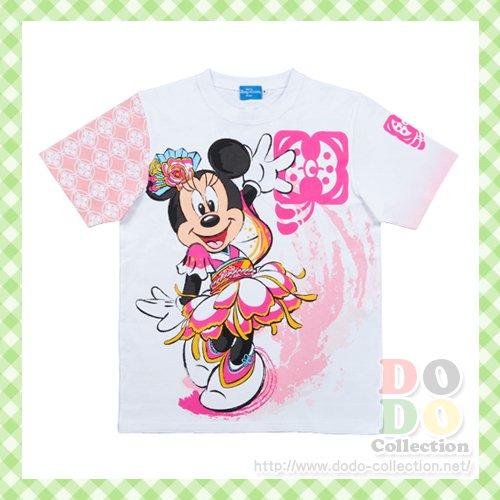 ミニー 彩涼華舞 Tシャツ 130 140 150㎝ ディズニー夏祭り 2016年 東京ディズニーランド限定