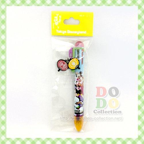 ディズニーランド夏祭り 2016年 メインデザイン 6色ボールペン 東京ディズニーランド限定 クリックポスト…