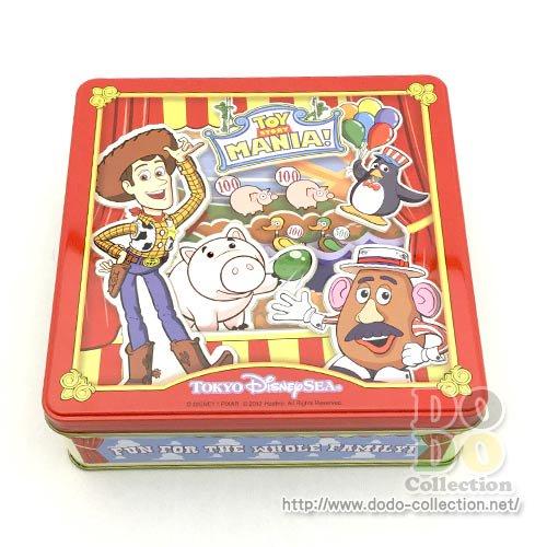 【予約販売】トイストーリーマニア 四角缶入り アソーテッドクッキー チョコレート付 東京ディズニーシー限定 お…