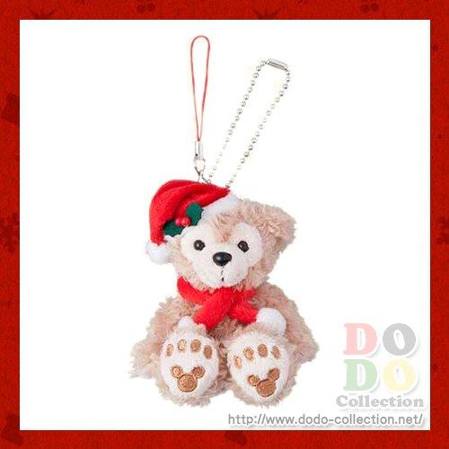 ダッフィーのクリスマス2016年 ダッフィー クリスマス・ウィッシュ ぬいぐるみストラップ♪東京ディズニーシー…