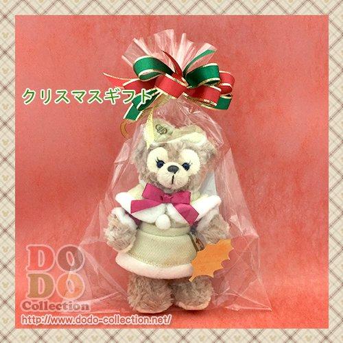 シェリーメイ ぬいぐるみバッジ クリスマスラッピング ギフト プレゼント♪東京ディズニーシー限定