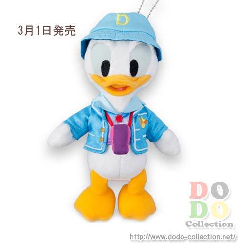 【予約】3月1日発売 ドナルド ぬいぐるみバッジ ディズニーシープラザ 東京ディズニーシー限定