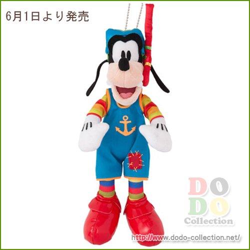 【予約】6月1日発売 グーフィー ぬいぐるみバッジ マーメイドラグーン グリーティング 衣装♪東京ディズニーシー…