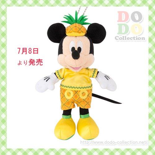 パイナップル ミッキー パイン ぬいぐるみバッジ 夏グッズ 2017 フルフルフルーツ♪東京ディズニーリゾート…