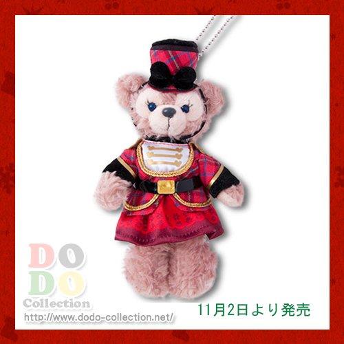【予約】11月2日発売 ダッフィーのクリスマス2017年 シェリーメイ ぬいぐるみバッジ 東京ディズニーシー限定
