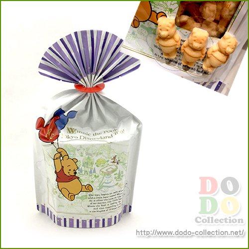 【予約販売】プーさん メイプル風味 クッキー 袋止めつき♪お菓子 東京ディズニーランド限定