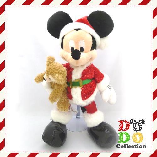 USAディズニー限定 クリスマス☆2012 ダッフィーを抱っこ サンタミッキー♪