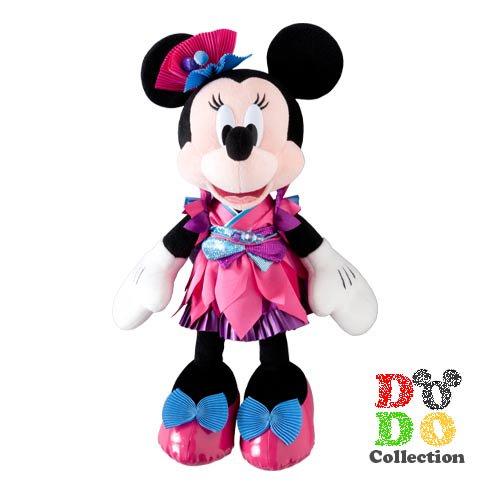 TDL限定◆夏祭りスペシャルグッズ ミニー ぬいぐるみ♪