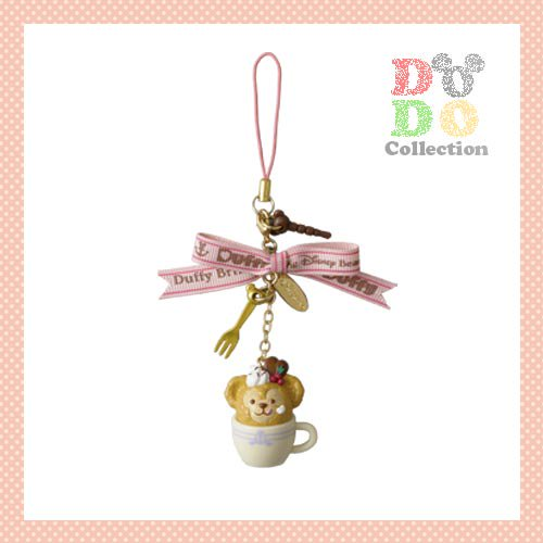 TDS限定 スウィート・ダッフィー☆2014年 ストラップ&イヤーフォンジャックカバー♪