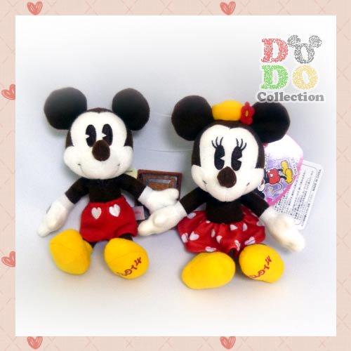 TDR限定 ディズニースウィートラブ★2014年 ミッキー&ミニー ぬいぐるみバッジ♪