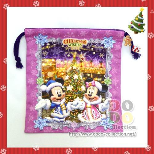 TDS限定 カラー・オブ・クリスマス2014 メインアート きんちゃく♪クリックポストOK