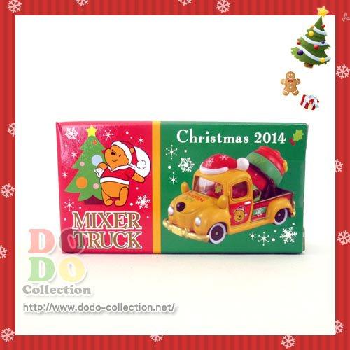 TDR限定 クリスマス☆2014 プーさん ミキサートラック トミカ♪