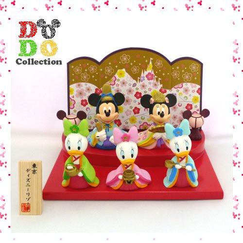 TDR限定 ディズニー★ひなまつり ミッキー&ミニー デイジーの姪っ子 ひな人形♪