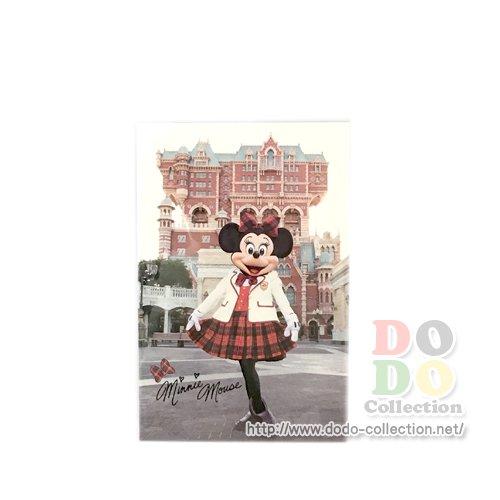 TDR限定 ディズニーシー タワー・オブ・テラー ミニー 制服 ポストカード♪クリックポストOK
