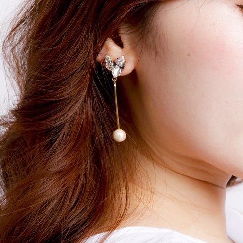 CARUTINAFleurs pierce & earring