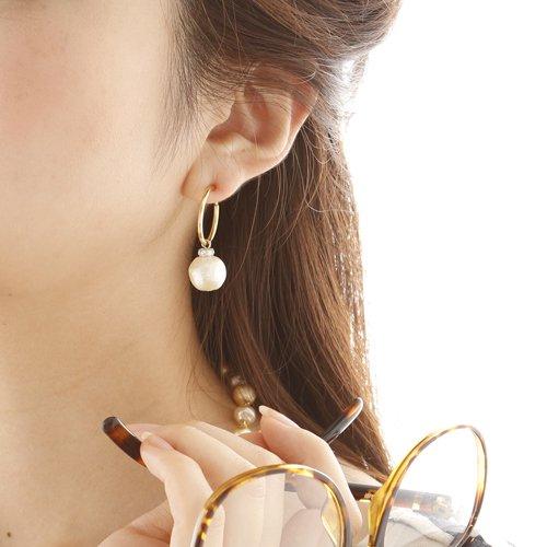 CARUTINA(カルティナ)Cotton pearl earring