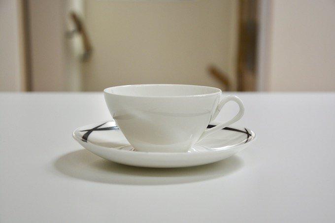グスタフスベリGustavsbergペンシルPencilコーヒーカップ&ソーサー