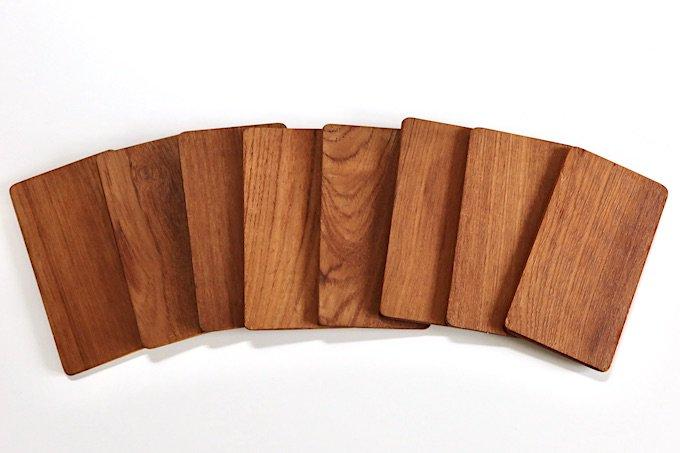 スウェーデンの木製ミニプレート