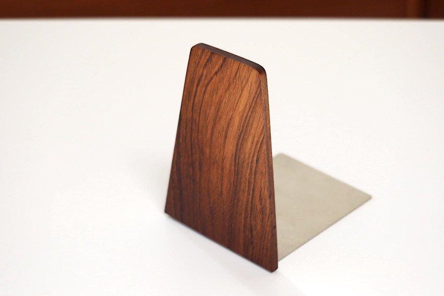デンマーク木製ブックエンド08