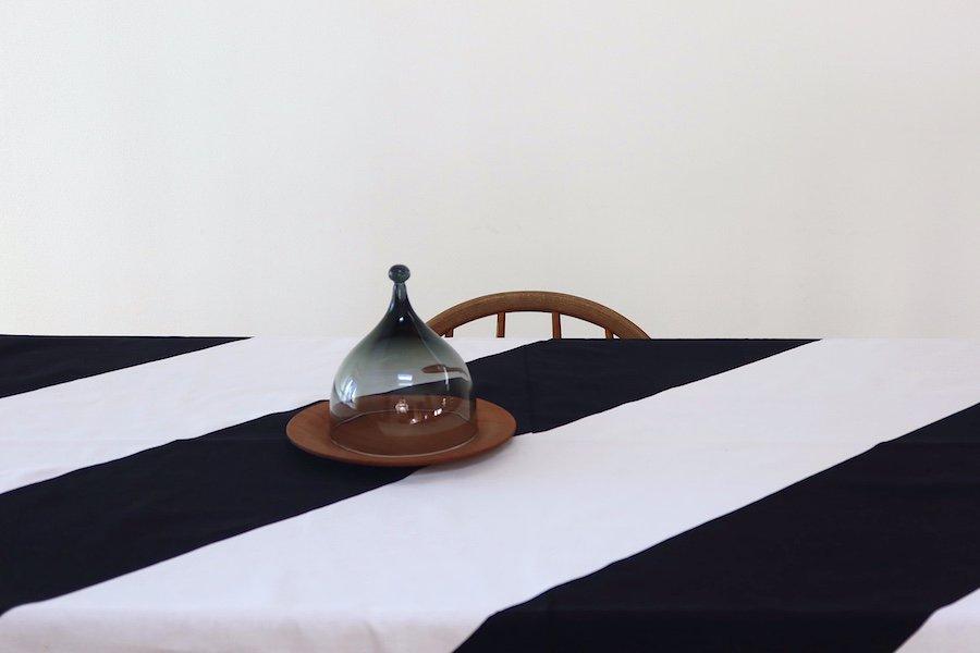 マリメッコ/Marimekkoライタ/RAITAモノトーン/ビンテージカーテン/テーブルクロス/ファブリック