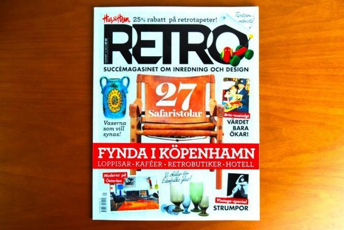 【SALE】Hus & Hem RETRO/レトロ/スウェーデンの人気雑誌/2013Number1