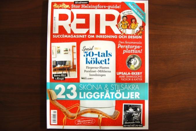 【SALE】Hus & Hem RETRO/レトロ/スウェーデンの人気雑誌/2013Number5