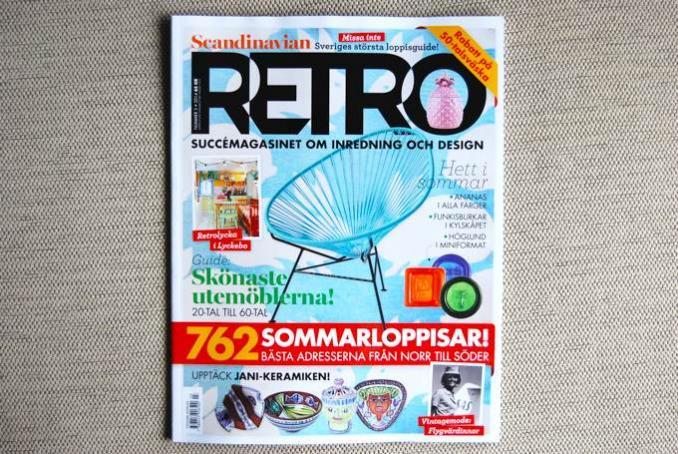 【SALE】Scandinavian RETRO/レトロ/スウェーデンの人気雑誌/2014Number3