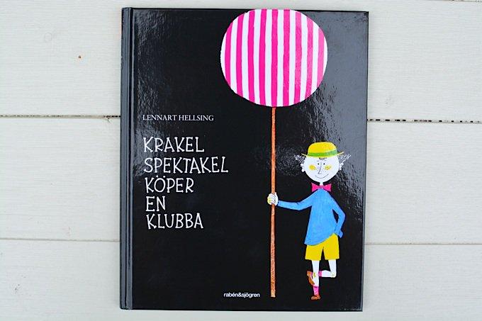 スティグ・リンドベリの絵本「ちゃっかりクラケールのおたんじょうび」