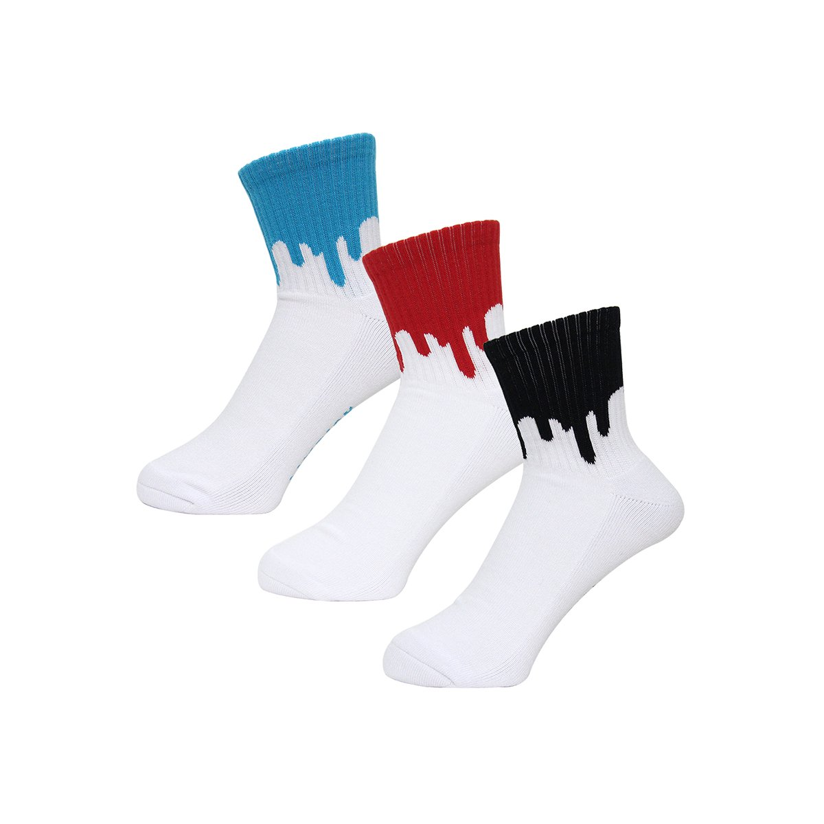 <img class='new_mark_img1' src='//img.shop-pro.jp/img/new/icons29.gif' style='border:none;display:inline;margin:0px;padding:0px;width:auto;' />LIXTICK DRIP SOCKS 3PACK (2nd)