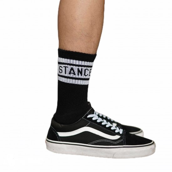 <img class='new_mark_img1' src='//img.shop-pro.jp/img/new/icons14.gif' style='border:none;display:inline;margin:0px;padding:0px;width:auto;' />FAKIE STANCE Pile Socks (black)