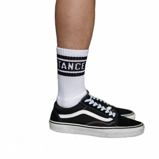 <img class='new_mark_img1' src='//img.shop-pro.jp/img/new/icons14.gif' style='border:none;display:inline;margin:0px;padding:0px;width:auto;' />FAKIE STANCE Pile Socks (white)