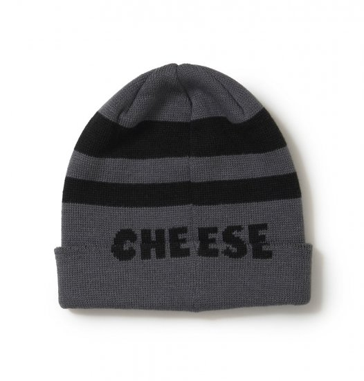 <img class='new_mark_img1' src='https://img.shop-pro.jp/img/new/icons14.gif' style='border:none;display:inline;margin:0px;padding:0px;width:auto;' />SON OF THE CHEESE Border KNITCAP (gray)