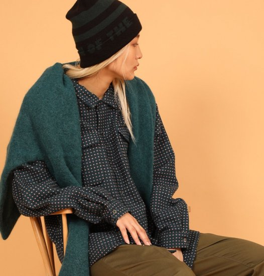 <img class='new_mark_img1' src='https://img.shop-pro.jp/img/new/icons14.gif' style='border:none;display:inline;margin:0px;padding:0px;width:auto;' />SON OF THE CHEESE Border KNITCAP (green)