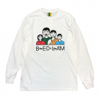 <img class='new_mark_img1' src='https://img.shop-pro.jp/img/new/icons14.gif' style='border:none;display:inline;margin:0px;padding:0px;width:auto;' />BEDLAM FAMILY TIES LONG SLEEVE (white)
