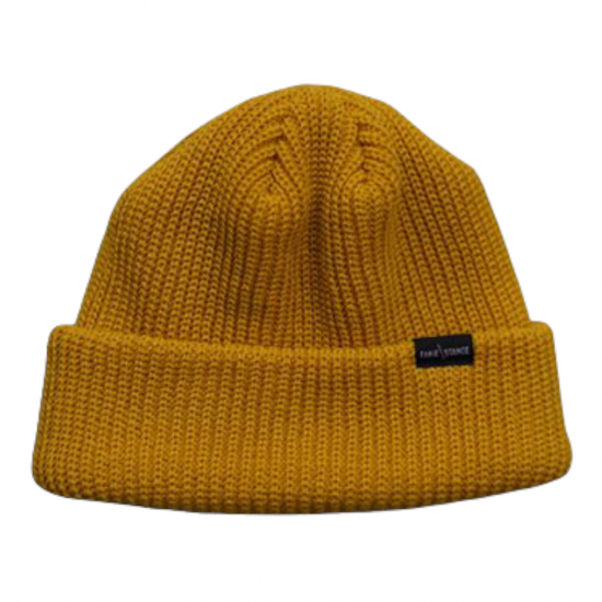 <img class='new_mark_img1' src='https://img.shop-pro.jp/img/new/icons14.gif' style='border:none;display:inline;margin:0px;padding:0px;width:auto;' />FAKIE STANCE Beanie (mustard)
