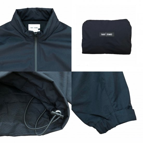 <img class='new_mark_img1' src='https://img.shop-pro.jp/img/new/icons14.gif' style='border:none;display:inline;margin:0px;padding:0px;width:auto;' />FAKIE STANCE Track Jacket (solid black) afterclap別注