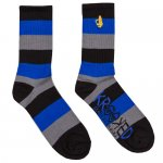 <img class='new_mark_img1' src='http://fatbros.shop-pro.jp/img/new/icons15.gif' style='border:none;display:inline;margin:0px;padding:0px;width:auto;' />KROOKED / Shmolo Socks - Black / Blue / Grey [ ���륭�åȡ�] ����