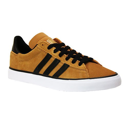 adidas / CAMPUS VULC2  [アディダス] スケートボードシューズ  GOLD YELLOW- BLACK