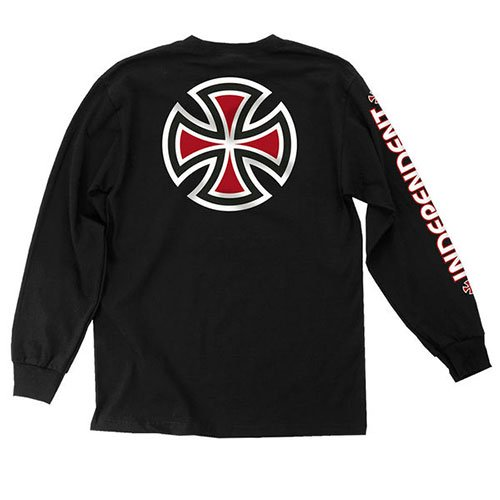 INDEPENDENT / Bar/Cross Long Sleeve T-Shirt  [インディペンデント]  ロングスリーブTEE