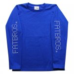 <img class='new_mark_img1' src='//img.shop-pro.jp/img/new/icons15.gif' style='border:none;display:inline;margin:0px;padding:0px;width:auto;' />FATBROS (KIDS) / DOT LOGO LONG SLEEVE TEE [ファットブロス] キッズ ロングスリーブTシャツ