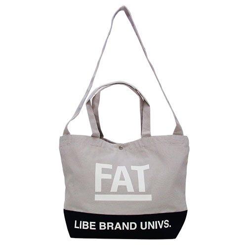少量限定商品LIBExFATBROS collaboration BIG FAT TOTE [ ライブ+ファットブロス ] コラボレーション トートバック