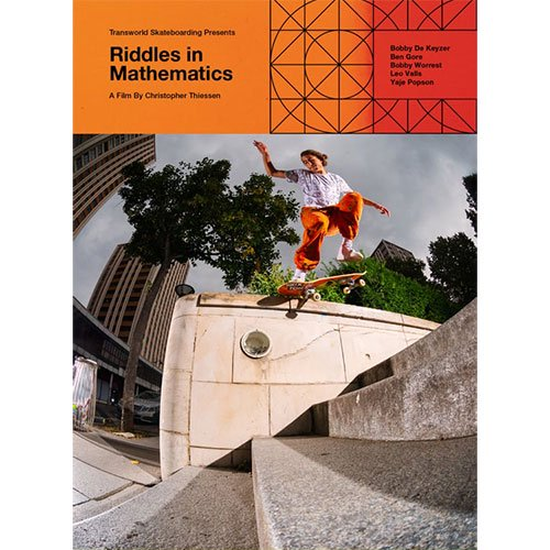 "TRANSWORLD SKATEBOARDING / ""Riddles In Mathematics""   スケートボードDVD"