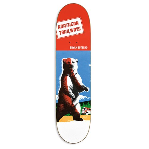 NORTHERN COMPANY / PRO SERIES  TRAILWAYS(Botelho)DECK [ノーザンカンパニー] 7.75