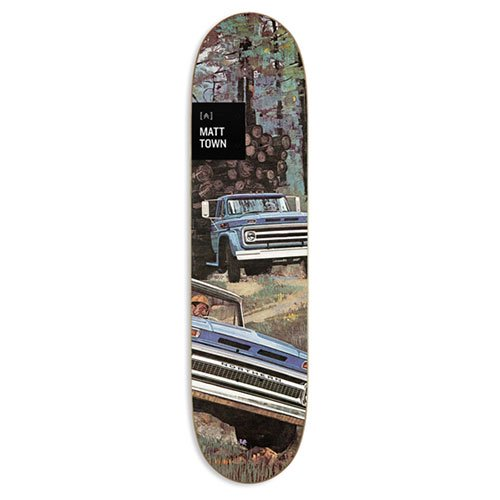 NORTHERN COMPANY / PRO SERIES  WORKERS(Matt Town)DECK [ノーザンカンパニー] 7.875