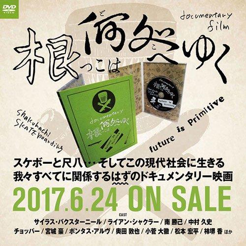 根っこは何処へゆく / ドキュメンタリー映画 DVD (スケートボード)