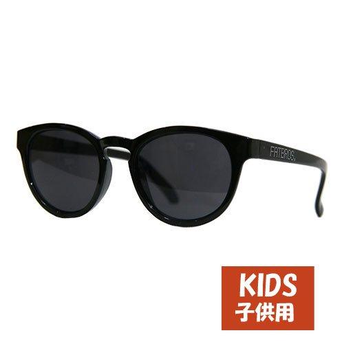 FATBROS R DOT KIDS SUNGLASS   [ファットブロス] 子供用サングラス  BLACK